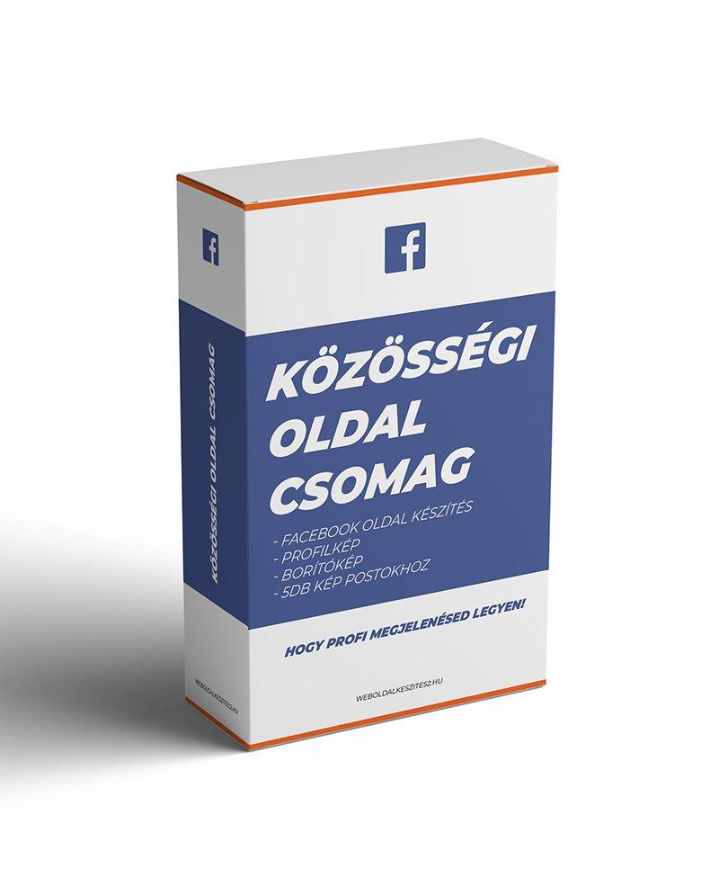 közösségi oldal csomag2