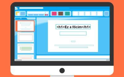 Mi is az a mágikus h1 tag a weboldalon?