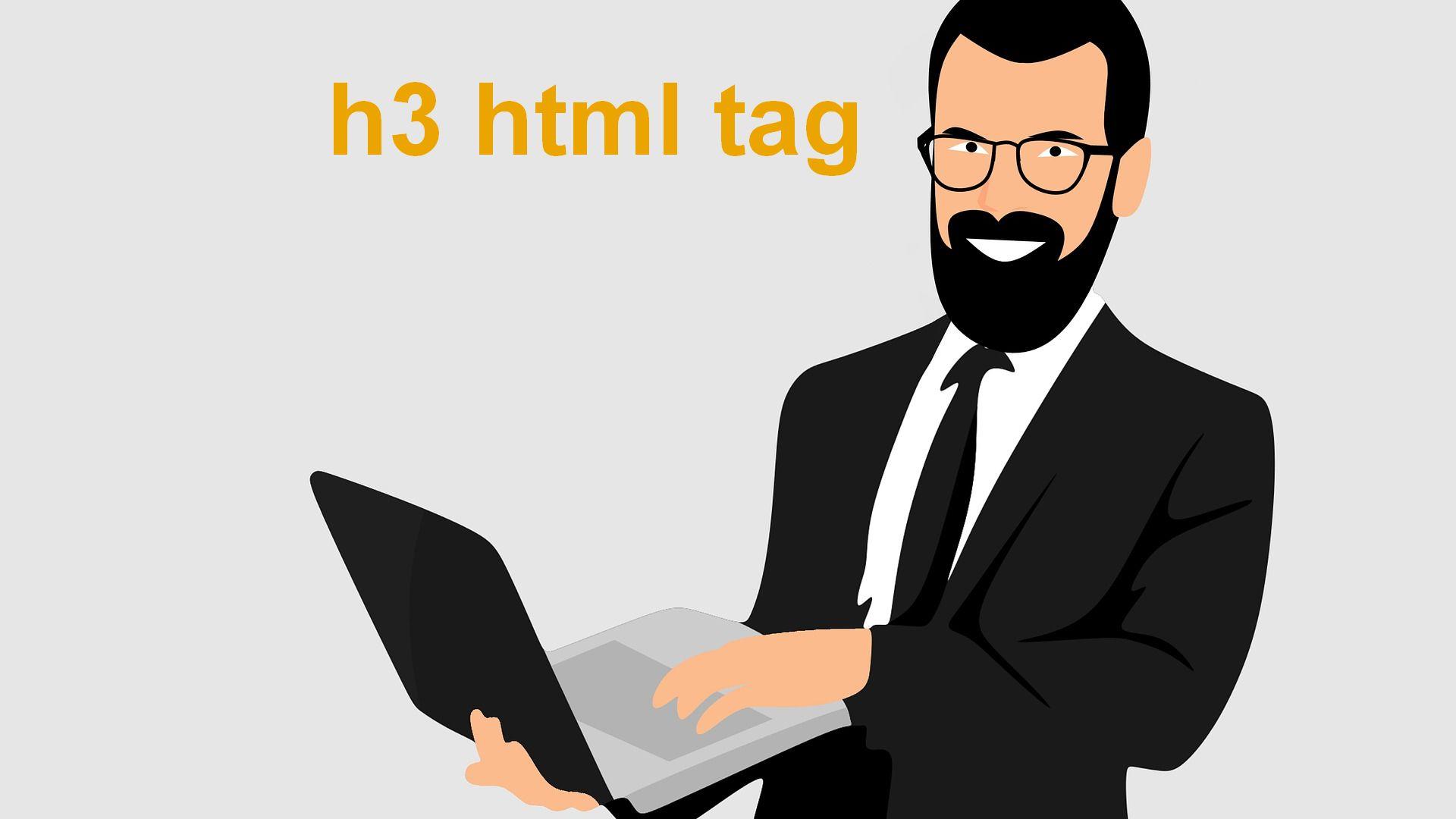 h3 html tag